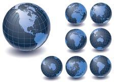 globe de ramassage Images libres de droits