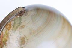 Globe de rotation images libres de droits