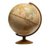 Globe de rotation Image libre de droits