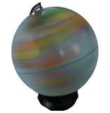 Globe de rotation d'isolement Images libres de droits