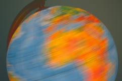 Globe de tourbillonnement Photographie stock libre de droits