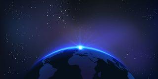 Globe de vecteur Photographie stock libre de droits