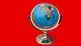 Globe decoration Stock Images