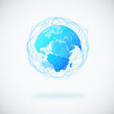 Globe design Stock Images