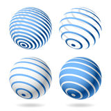 Globe. Design elements. Royalty Free Stock Image