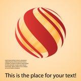 Globe Design Layout Stock Photography