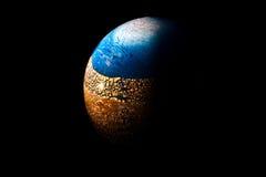 Globe discret Image libre de droits