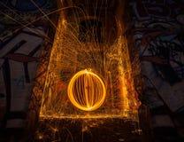 Globe du feu Photographie stock libre de droits