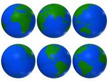 Globe du monde Image libre de droits