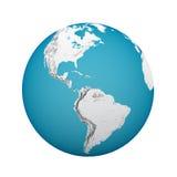 Globe earth vector illustration