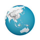 Globe earth Stock Photo