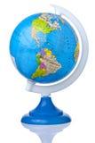 Globe Earth America Isolated Stock Image