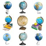 Globe. Education Isolated Earth Map World Map terrestrial Stock Photo