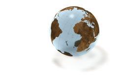 Globe en cristal Image libre de droits