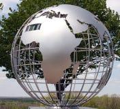 Globe en métal Photo libre de droits