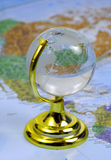 Globe en verre Photos stock