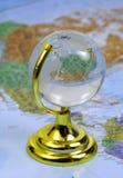 Globe en verre Photos stock