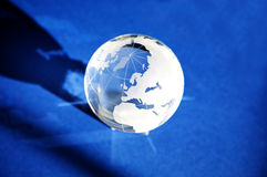 Globe en verre photo stock