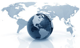 globe en verre illustration de vecteur