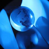 Globe, environmental responsibility Royalty Free Stock Photography