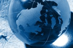 Globe, environmental responsibility Royalty Free Stock Photo