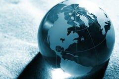 Globe, environmental responsibility Royalty Free Stock Photo