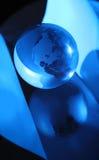 Globe, environmental responsibility Stock Images