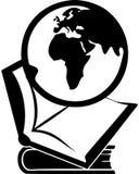 Globe et livre illustration de vecteur