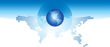 Globe et monde Photographie stock