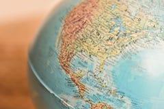 Globe Etats-Unis Photos libres de droits