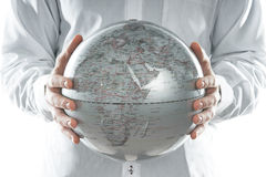 The globe of Europe Stock Photography