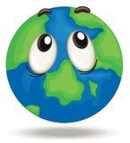 Globe face Royalty Free Stock Photography