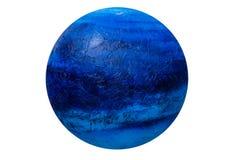 Globe fait main de pâte à modeler d'isolement Graphisme grand pour des thèmes globaux Image libre de droits