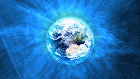 Radiating Earth Stock Images
