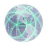 Globe focusing on North America Royalty Free Stock Photos