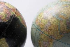 Globe foncé et léger Photographie stock libre de droits