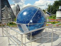 Globe Gipparzha. Planetarium in Moscow royalty free stock photos