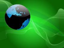 globe glossy internet 免版税库存图片