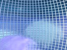 Globe Grid in the Skies - Interior Royalty Free Stock Photo