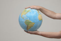 The globe Stock Image