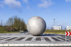 Globe at headquarters of famous camera manufactur Leitz Stock Photos