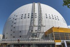 The Globe het grootste halfronde gebouw stock foto's