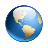 Globe Icon Royalty Free Stock Photography