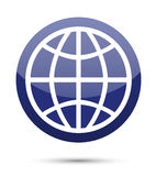 Globe icon Royalty Free Stock Image