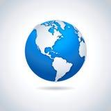 Globe icon - illustration. Royalty Free Stock Photography