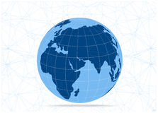 Globe icon isolated on white background Royalty Free Stock Image