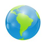 Globe Icon Vector Illustration for Your Design Royalty Free Stock Photos