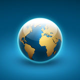 Globe icon of the world Stock Photo