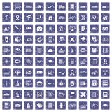 100 globe icons set grunge sapphire. 100 globe icons set in grunge style sapphire color isolated on white background vector illustration vector illustration