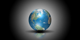 Globe illustration Royalty Free Stock Image